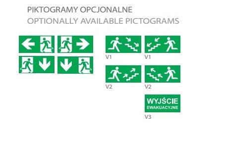 VEGA - Piktogramy